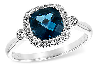 D198-64746: LDS RG 1.62 LONDON BLUE TOPAZ 1.78 TGW
