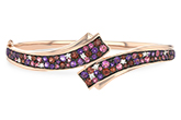 E197-79318: BANGLE 3.12 MULTI-COLOR 3.30 TGW (AMY,GT,PT)
