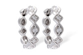 F010-45636: EARRINGS .22 TW