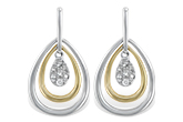 F193-22082: EARRINGS .06 TW