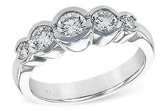 G102-32945: LDS WED RING 1.00 TW