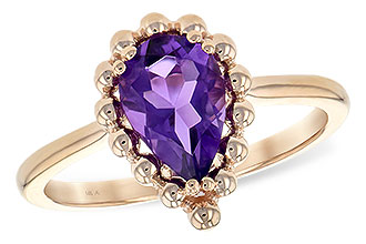 G198-67518: LDS RING 1.06 CT AMETHYST