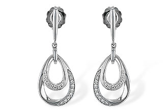 K198-69318: EARRINGS .12 TW